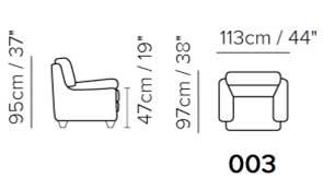 Кресло Softaly B637 (Италия)