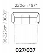 Диван Softaly B741 (Италия)