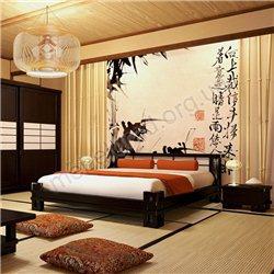 Спальня Япония из ольхи