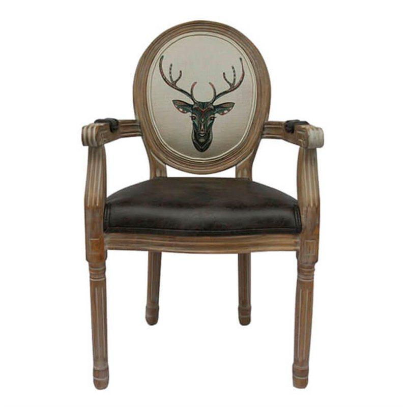 Стул с подлокотниками ART Deer 5KS24505
