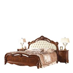 Кровать Каролина с мягким изголовьем