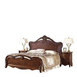 Кровать Каролина с твердым изголовьем
