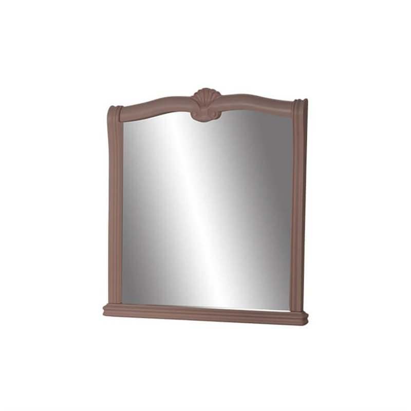 Зеркало Оливия розовый
