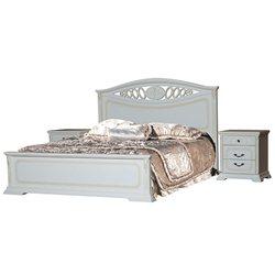 Кровать Лорен с твердым изголовьем