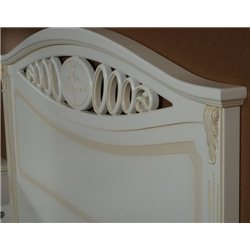 Кровать Лорен белая