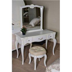 Зеркало Оливия серебро