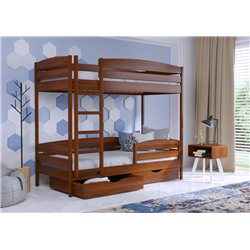 Двухъярусная кровать Дуэт Плюс из бука