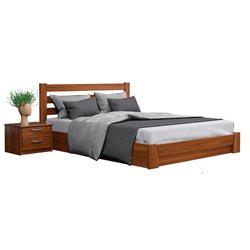 Кровать Селена из бука с подъёмным механизмом