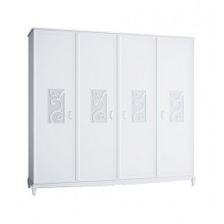 Шкаф 4х дверный Джулия