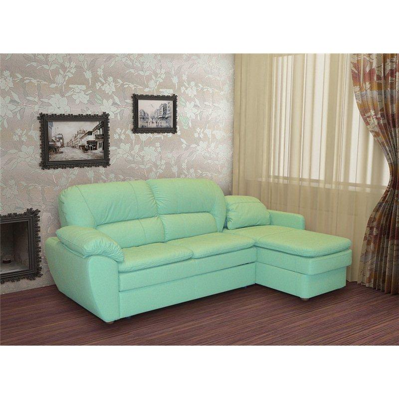 Хьюстон угловой диван с оттоманкой, ЛВС