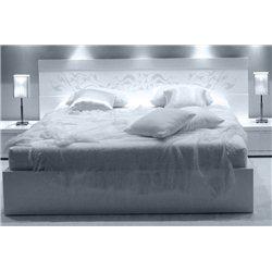 Белая кровать Vito White S714