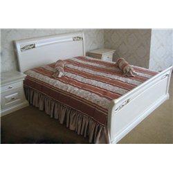 Кровать Шопен из ольхи низкая