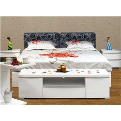 """Кровать """"Амелия"""" с мягким изголовьем"""