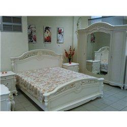 Кровать Жозефина белая