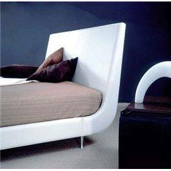 Белая кровать Miro Felino