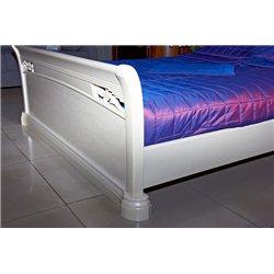 Кровать Шопен высокая белая