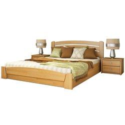 Кровать Селена-Аури из бука с подъёмным механизмом