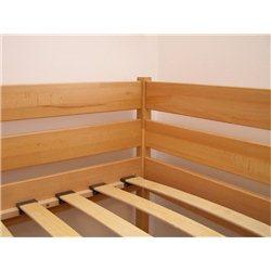 Двухъярусная кровать Дуэт из бука