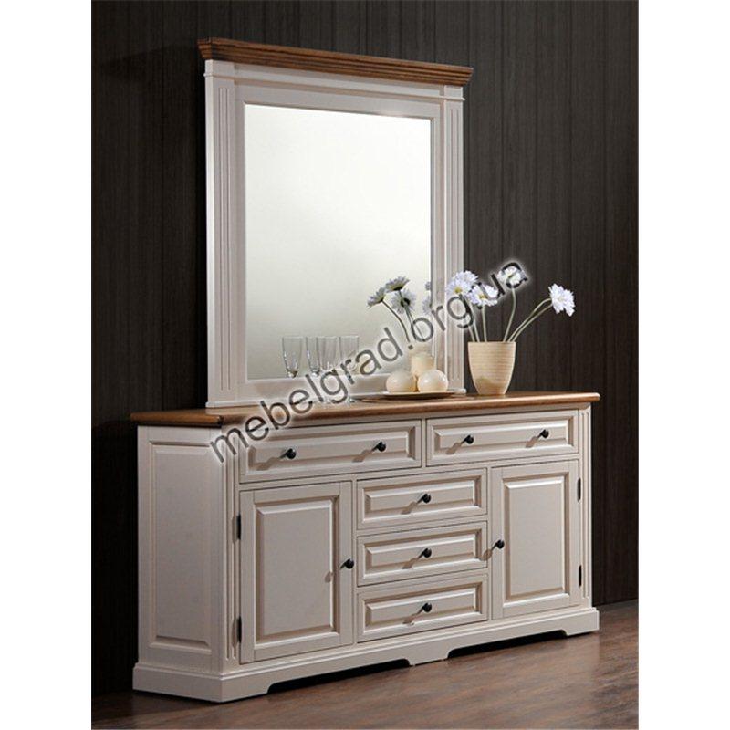 """Будуарный столик + зеркало """"Калифорния"""""""