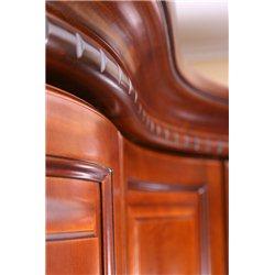 Шкаф угловой Омега 4-х дверный