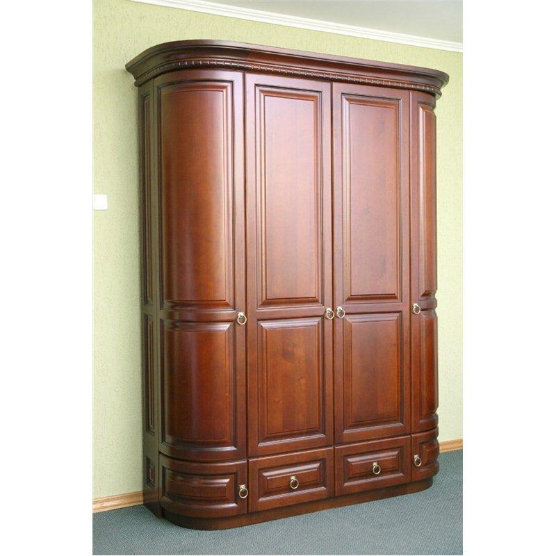 Шкаф Омега 4-х дверный односторонний