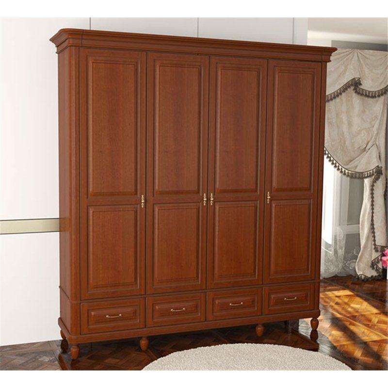 Шкаф Омега Комфорт 4-х дверный