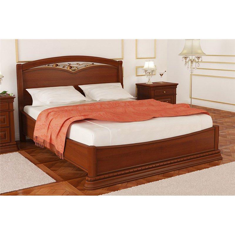 Кровать Омега Люкс низкая с ковкой