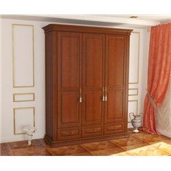 Шкаф Омега Люкс 3-дверный