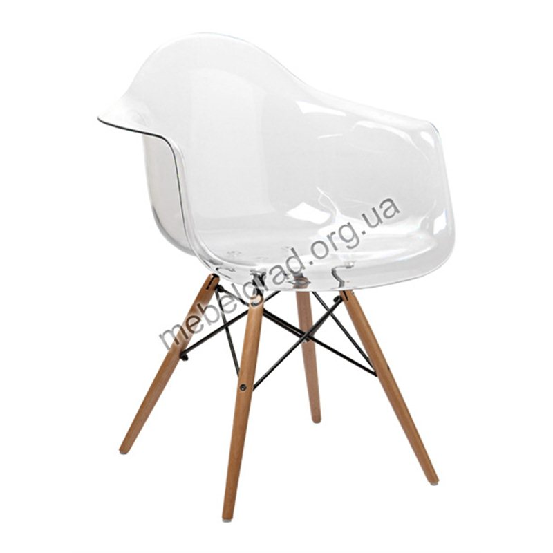 """Кресло """"Прайз"""" прозрачный"""