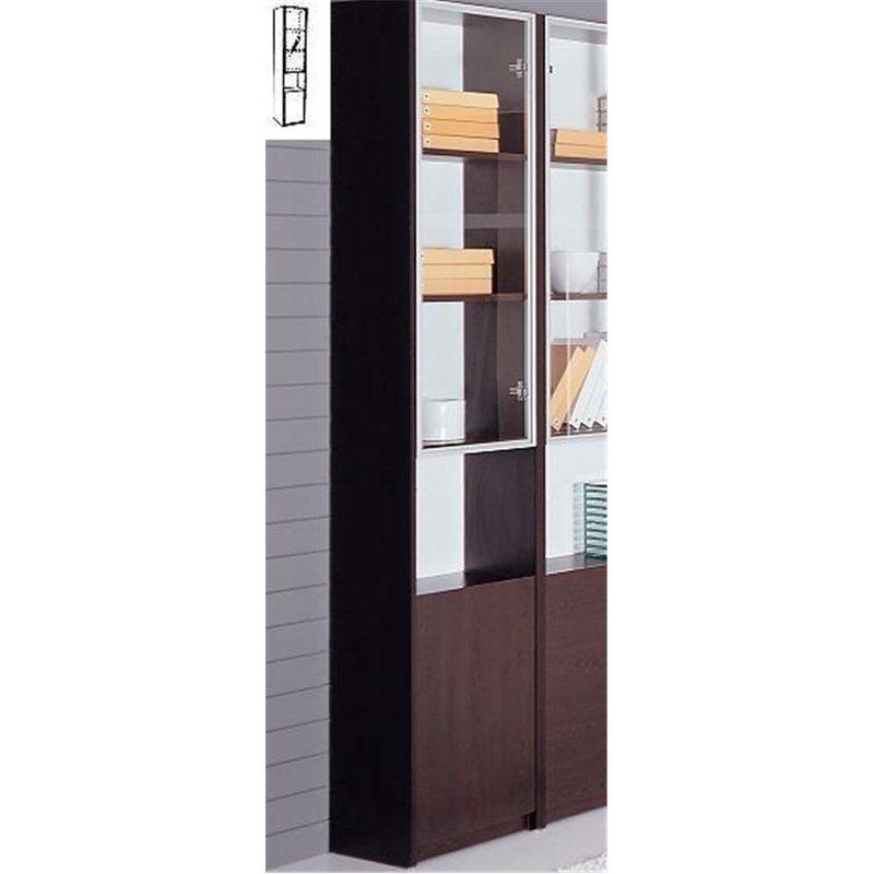 Шкаф-библиотека R732-17 Red Apple 1-дверный