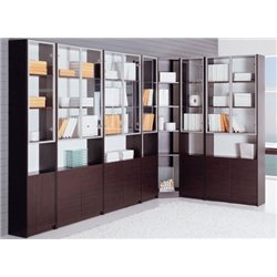 Шкаф-библиотека R732-34 Red Apple 2-х дверный