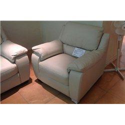 Кресло-реклайнер B741 в коже, Softaly