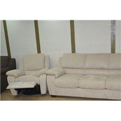 Кресло-реклайнер B741 в ткани, Softaly